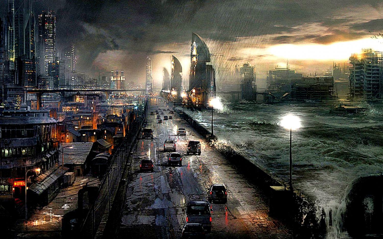 art wallpaper city when rain | image wallpaper collections