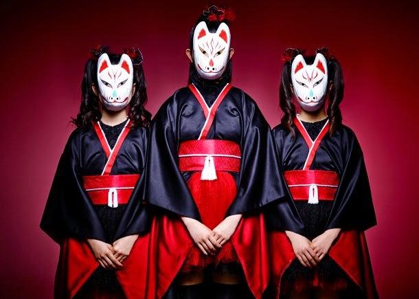 megitsune song, megitsune lyric and translation, kawaii metal, female fox, Suzuka Nakamoto, Moa Kikuchi, Yui Mizuno, Sakura Gakuin
