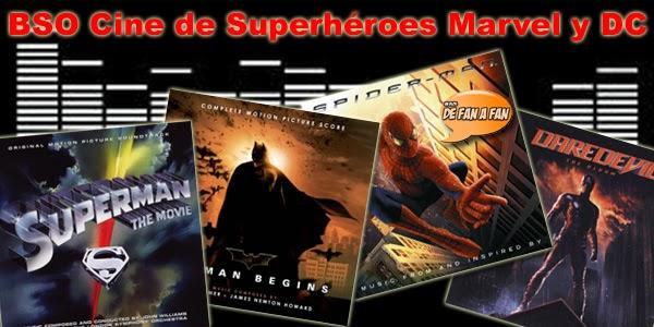 Los 12 mejores temas musicales de películas/series de Superhéroes Marvel y DC