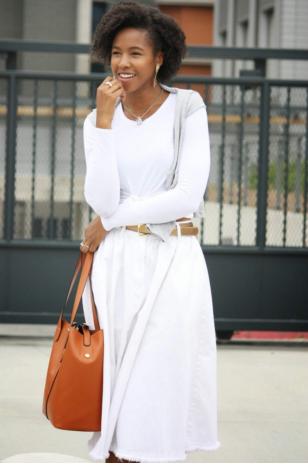 Natural hair, fashion blogger, Marquise C Brown, ootd