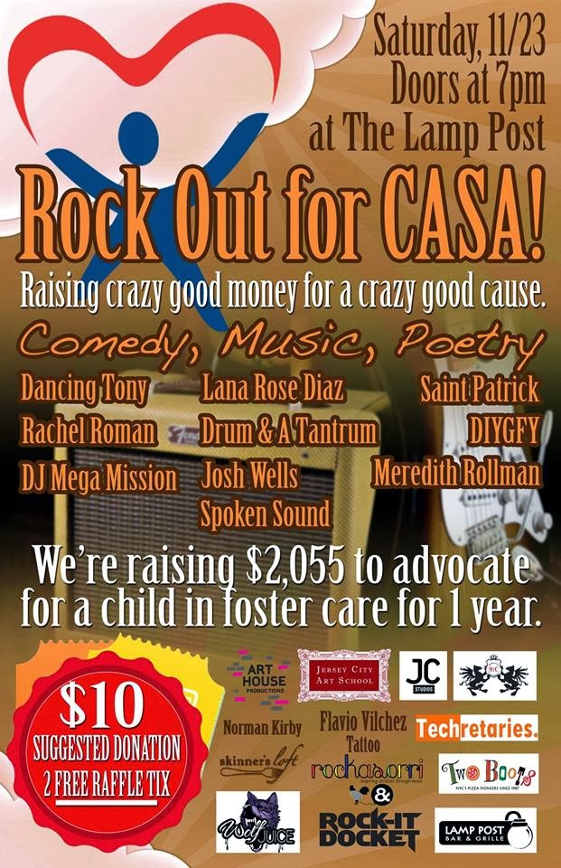 Rock Out for Hudson County CASA