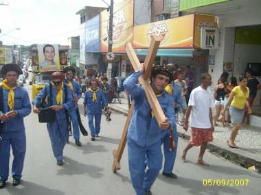 Protesto contra a discriminação da tradicional SOBAC pelo prefeito Lula Cabral do Cabo