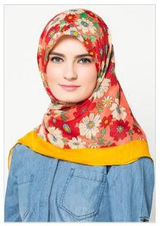 Trend Motif Hijab Modern Terbaru 2016 image