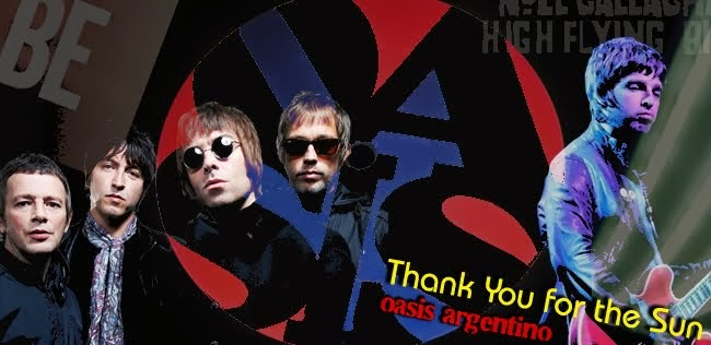 oasis Argentina Thank You For The Sun