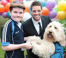 Clive, Murray and Keith Duffy celebrating World Autism Day 2012 ....