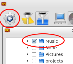 how to add music to doubletwist