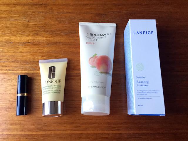 Skincare Haul feat Estee Lauder, Clinique, The Face Shop, Laneige