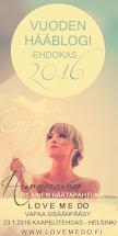 Vuoden hääblogi -ehdokas 2016
