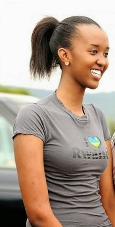 Forget NGINA KENYATTA ….. ANGE KAGAME is the hottest first ...