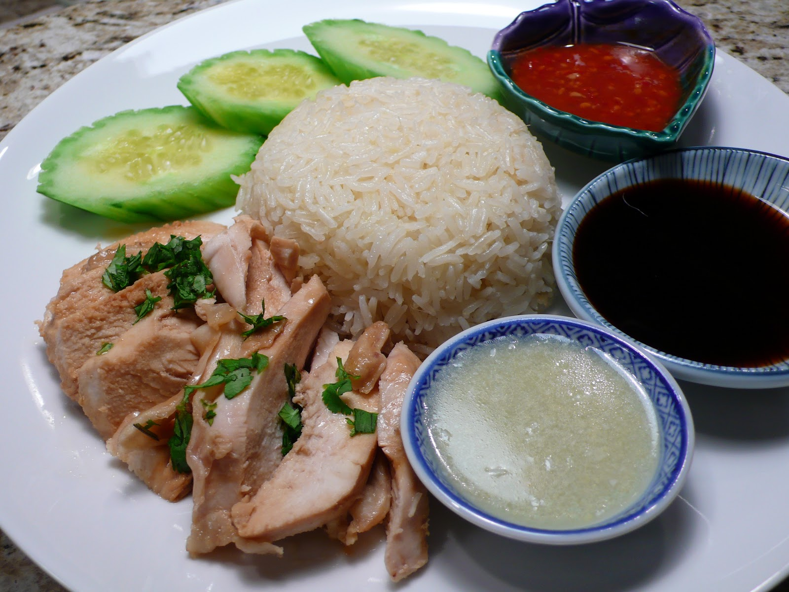 delimilli: Hainanese Chicken Rice