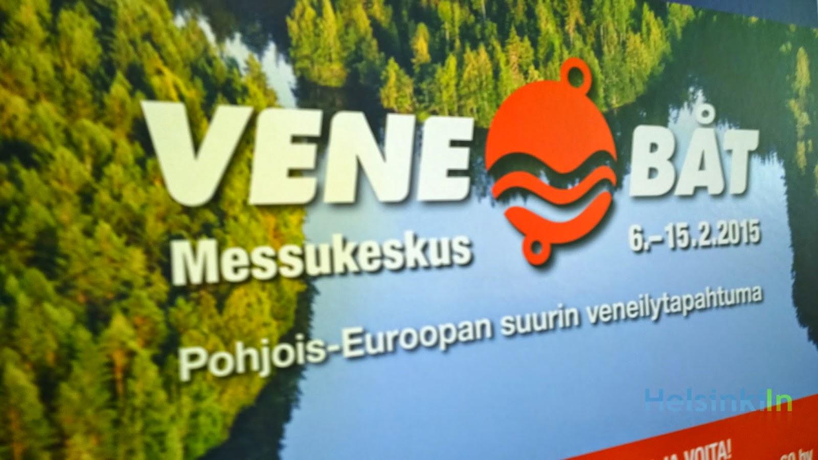 Helsinki International Boat Show Vene/Båt.