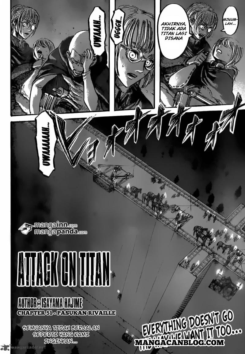 Dilarang COPAS - situs resmi www.mangacanblog.com - Komik shingeki no kyojin 051 - pasukan rivaille 52 Indonesia shingeki no kyojin 051 - pasukan rivaille Terbaru 1|Baca Manga Komik Indonesia|Mangacan