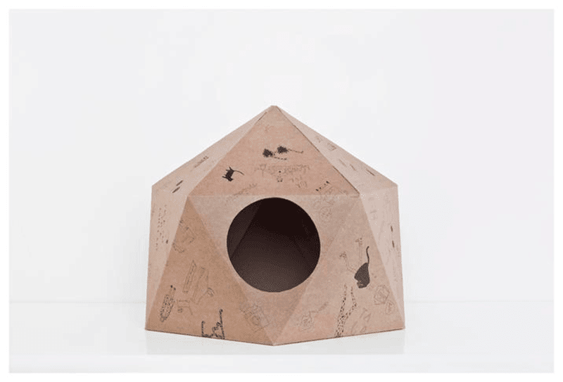 Cat Cube de Delphine Courier
