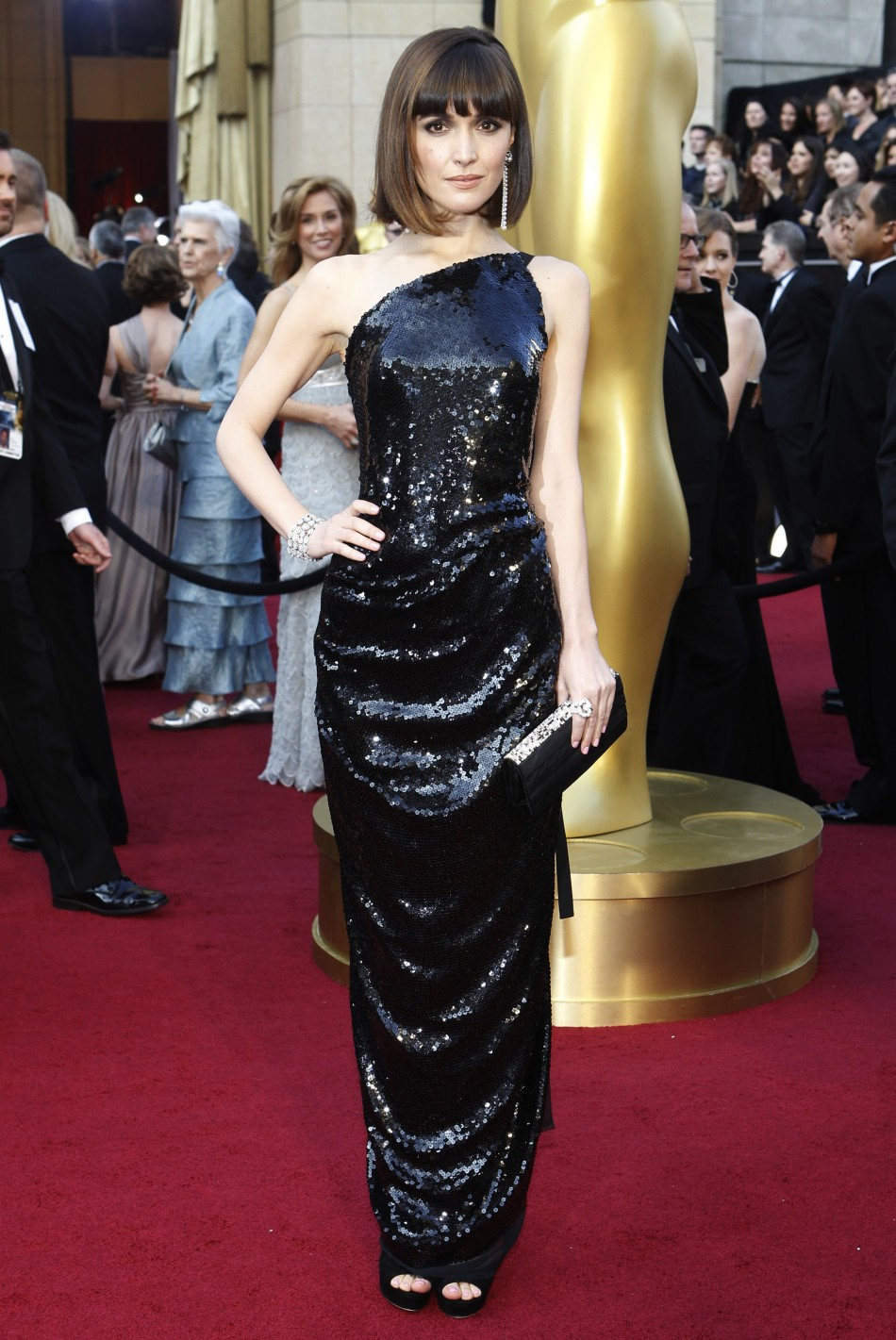 Rose Byrne, you saucy little minx you. Where did all this chic sexiness come ...