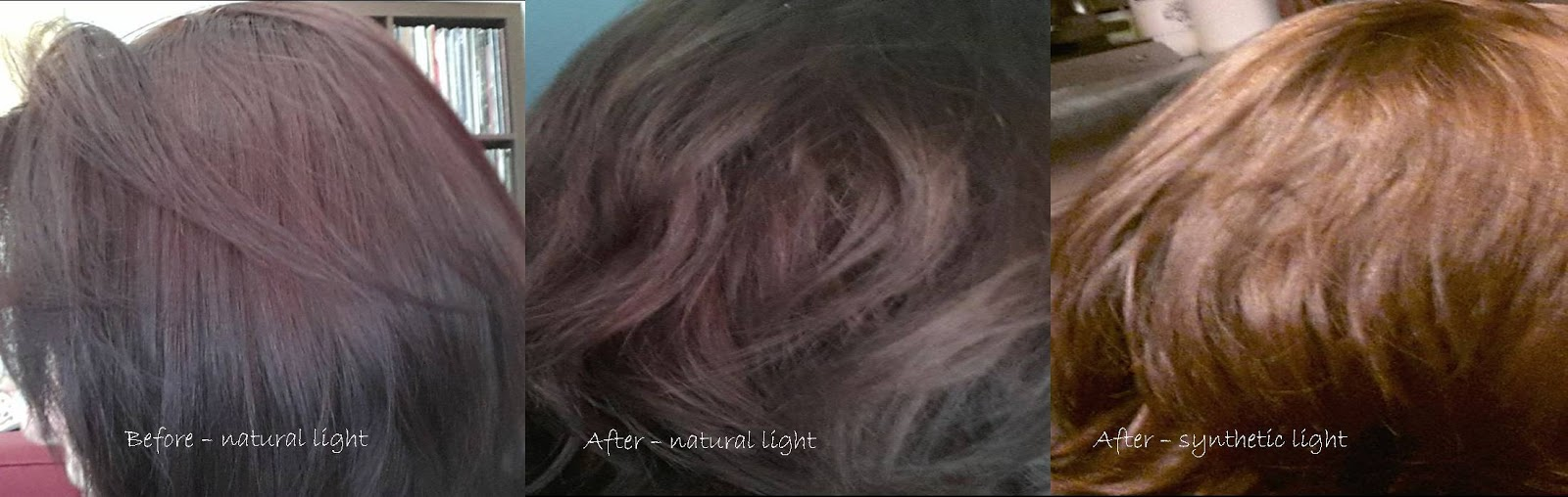 My Hair Journey......how I Got My Hair From Red To Ash Brown With As Little  Damage As Possible. | All Things Glittery And Gorgeous!