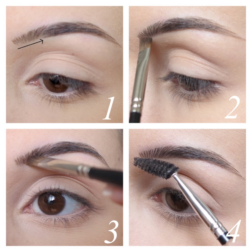 Souvent How to make-up: comment maquiller ses sourcils ? | Mlle Chanaëlle ND42