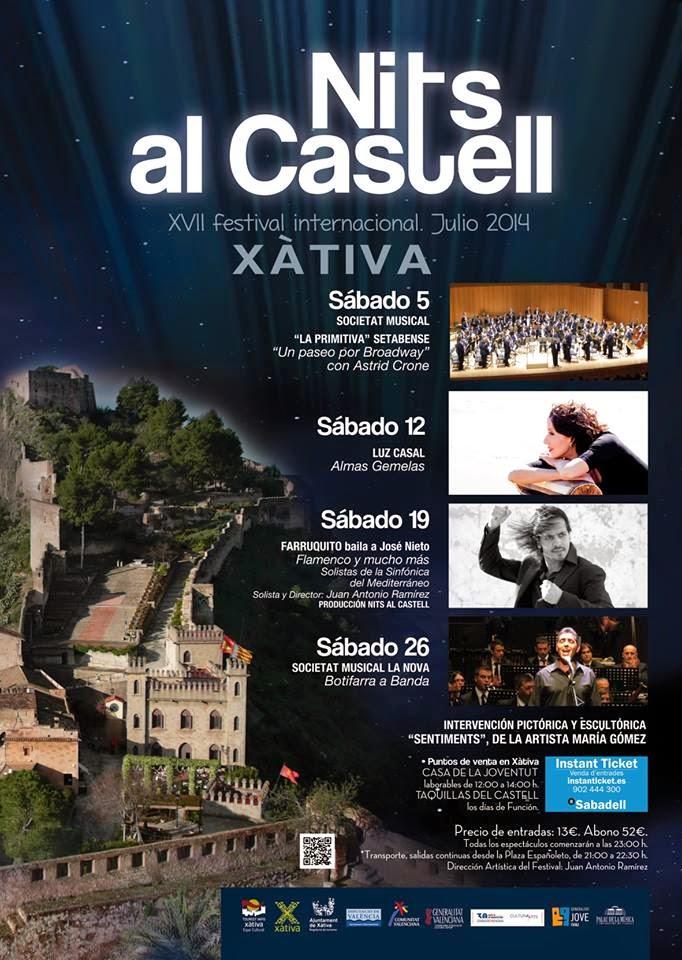 NITS AL CASTELL XÀTIVA