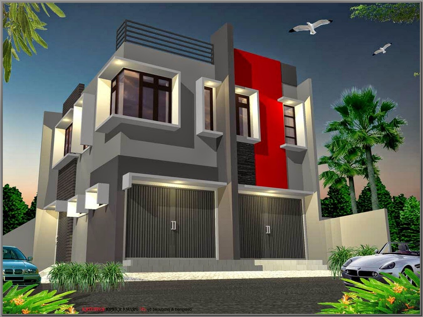 The 2 storey shophouse image design nyoke house design for Storey house designs