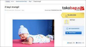 Jual Bayi, Tokobagus.com Terancam Ditutup