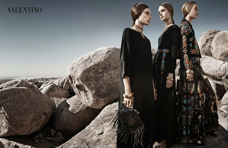 Magazine Photoshoot : Craig McDean Photoshot For Valentino Magazine Spring/Summer 2014 Issue
