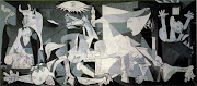Two more stages of my Guernica homage and a final. If you're in the Newport