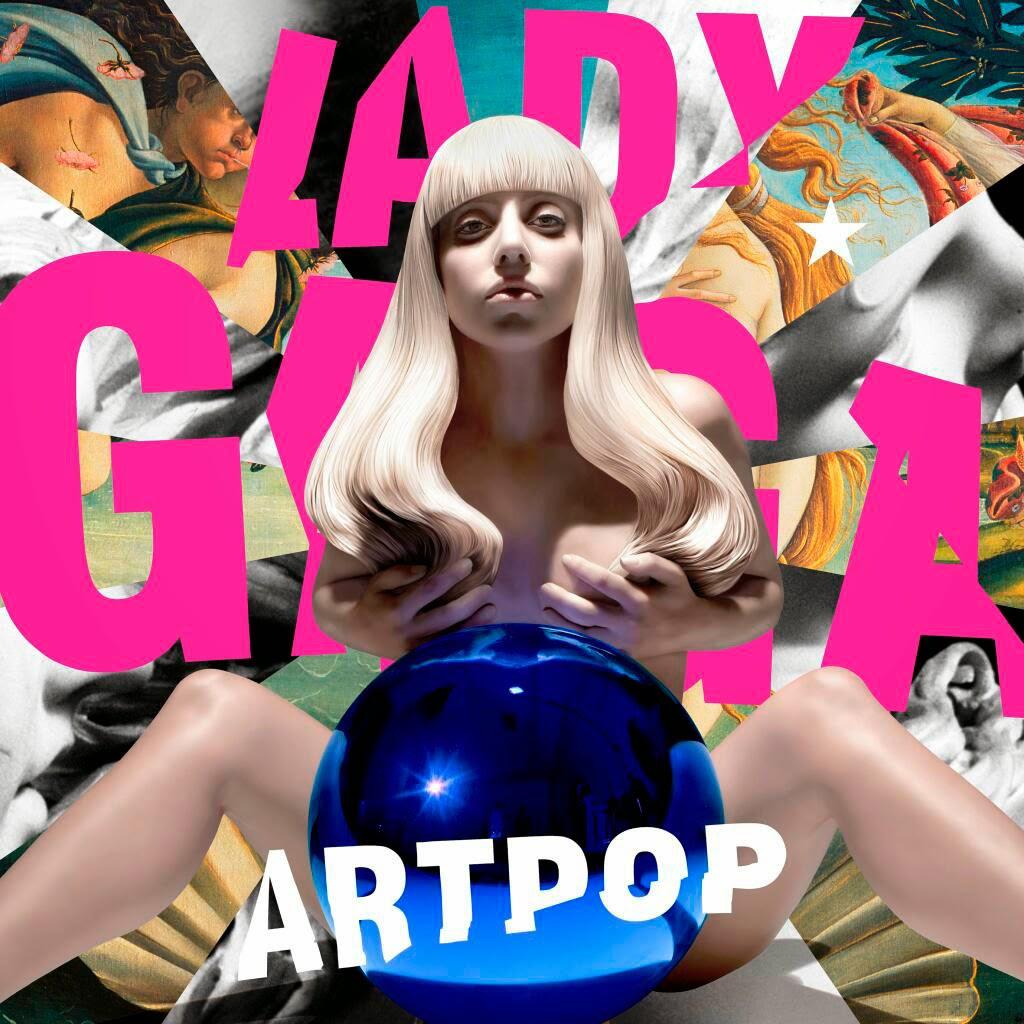 Lady Gaga, Artpop, cover, portada