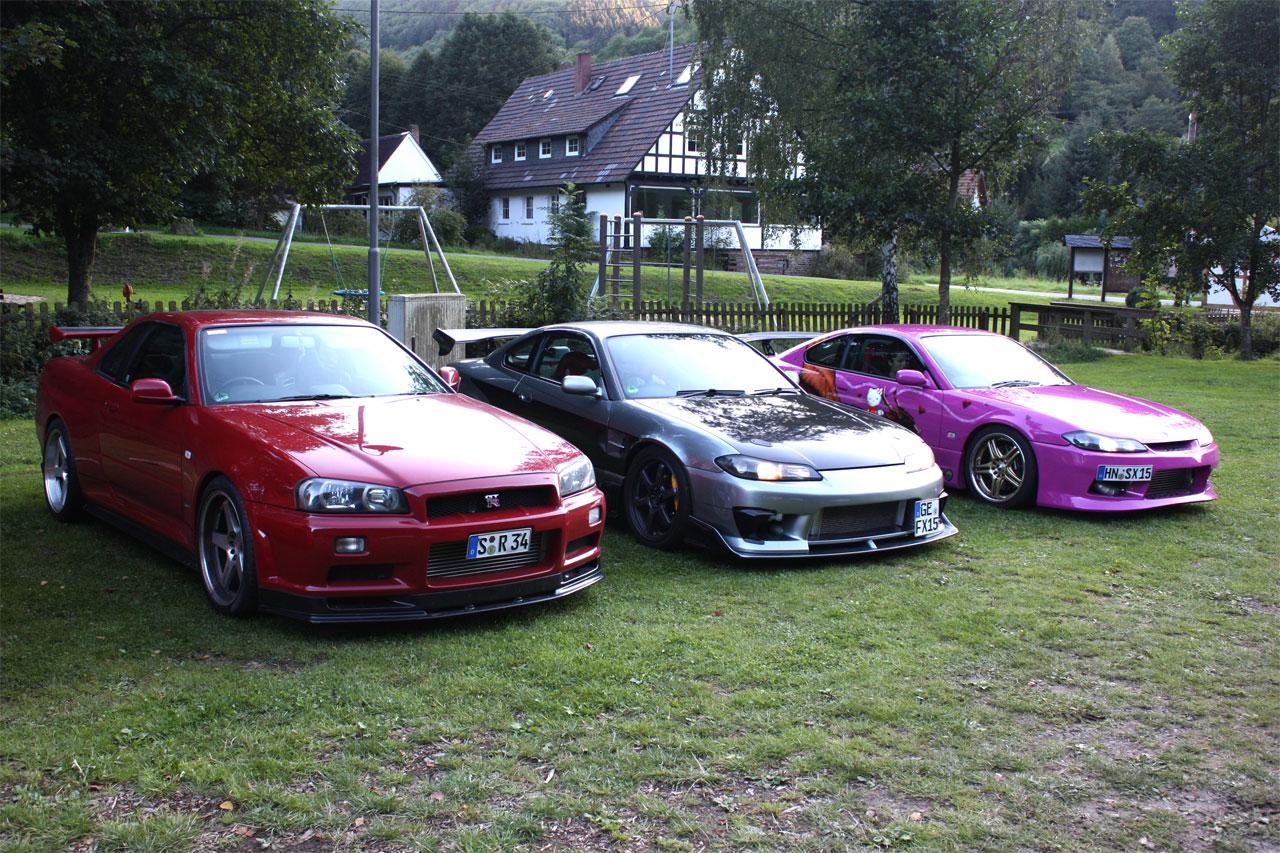 Nissan Skyline R34, Silvia S15, najlepsze sportowe samochody, piękne, ciekawe, fajne
