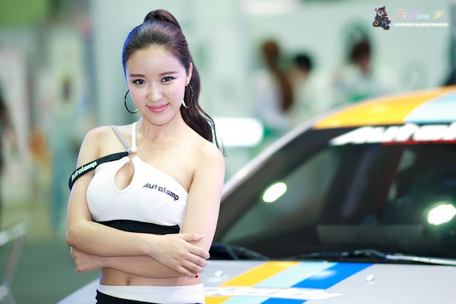 1 Yoon Joo Ha - Seoul Auto Salon 2012-Very cute asian girl - girlcute4u.blogspot.com
