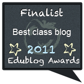 EduBlog Awards:  Third Place 2011