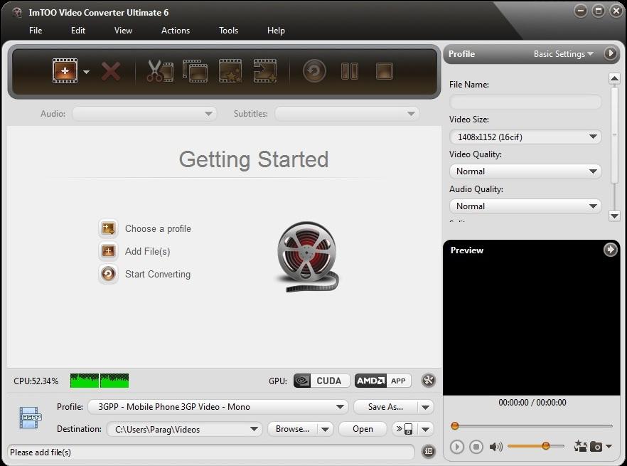 22 фев 2012 ImTOO Video Converter Ultimate - очень неплохой конвертер аудио