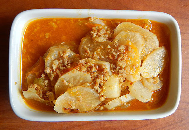 Ginisang Labanos Filipino Vegetable Recipe