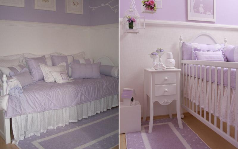 Escadex Escadas para sótão e alçapão Quartos de bebê  ~ Quarto Rosa E Lilas De Bebe