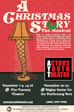 THIS MONTH'S MAIN SITE SPONSOR: Actor's Youth Theatre presents...
