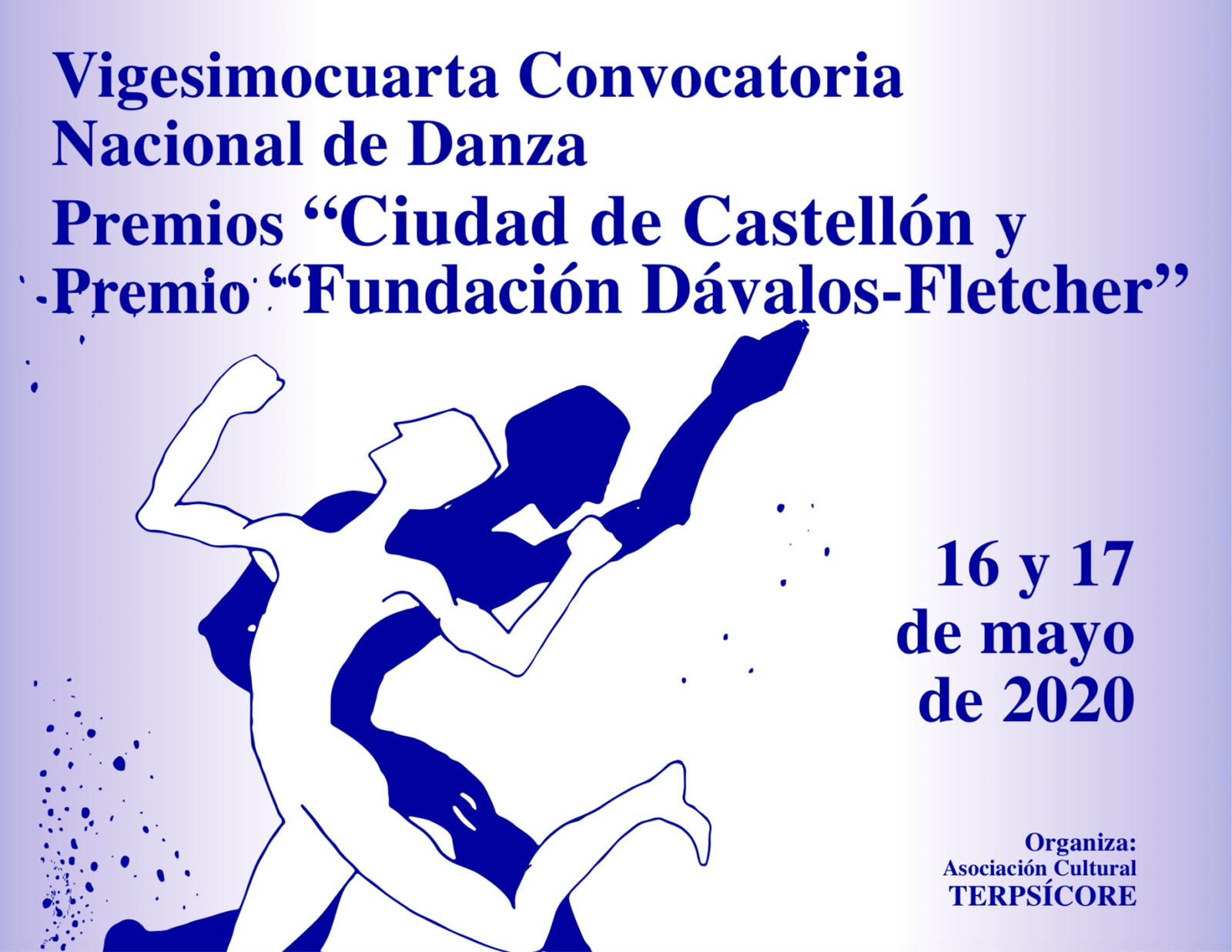 """Vigésimocuarta Convocatoria Nacional de Danza Premios """"Ciudad de Castellón"""""""