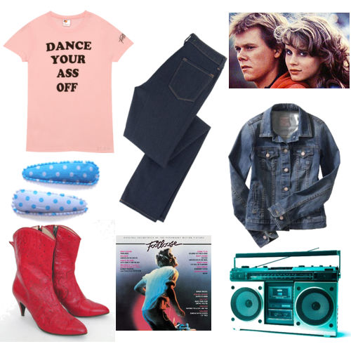 Footloose 1984 dress styles