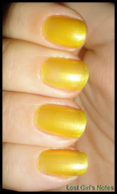 OPI lemonade stand by your man swatches and review