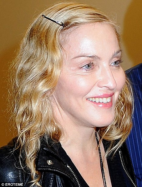 Madonna herself said, 'Sometimes, photographs that I see, I just ...