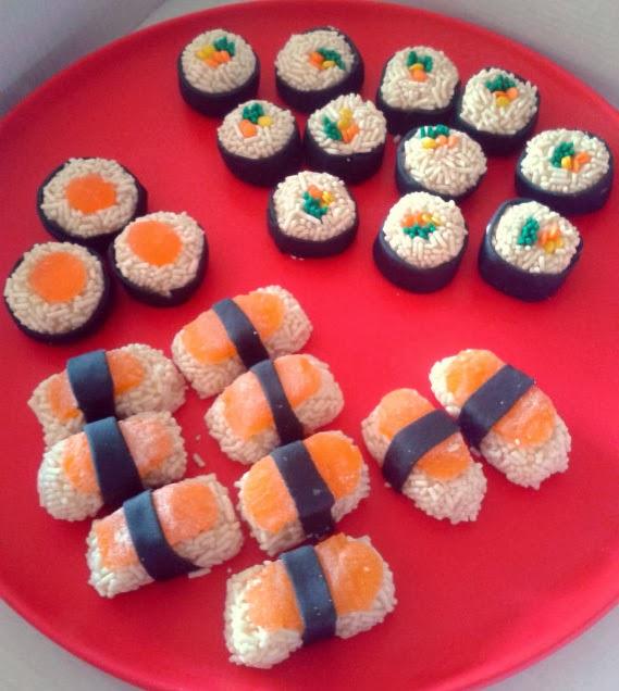 How To Make A Sushi Cake