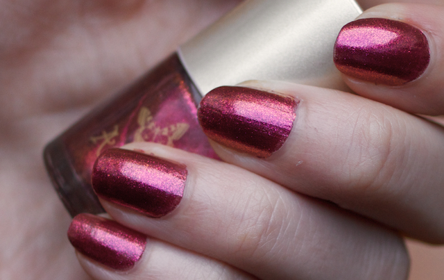accessorize illusion duochrome swatch pink spice