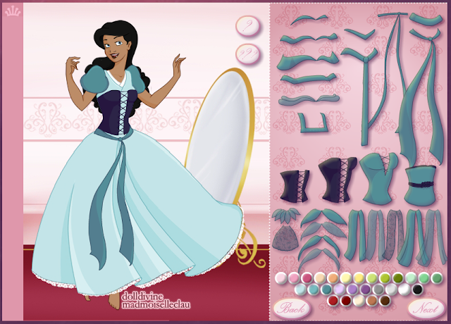 Create Your Own Princess with Doll Divine