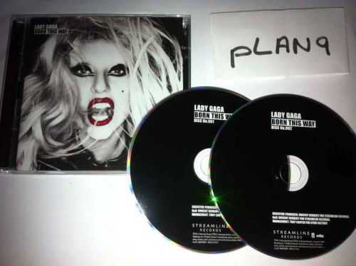 lady gaga born this way cd art. pictures 2011 lady gaga born