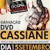 Sony realiza interatividade com o público para o DVD de Cassiane