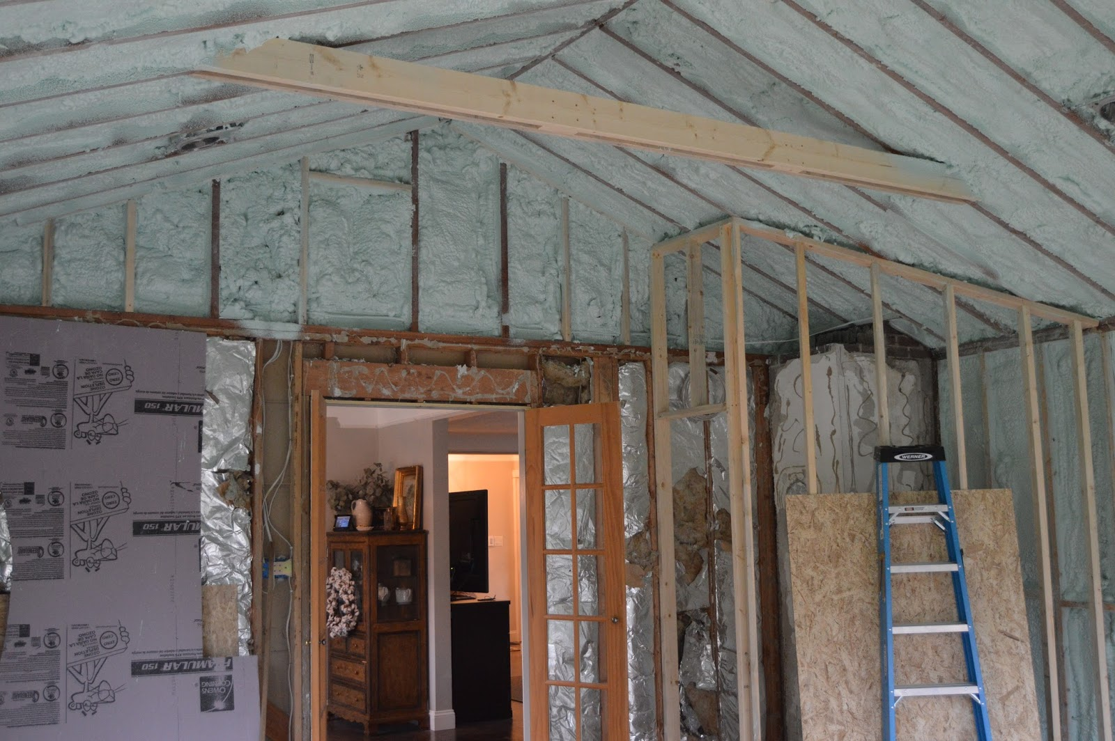 House dash Home: Insulating With Spray Foam