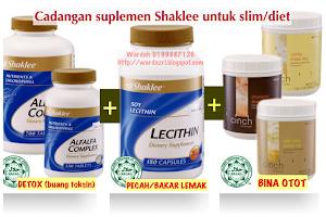 VITAMIN SHAKLEE BAJET untuk SLIM/DIET