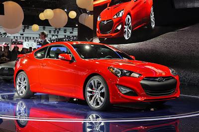 Hyundai Genesis Coupe 2013,Destaques do Salão do Automóvel de Detroit 2012