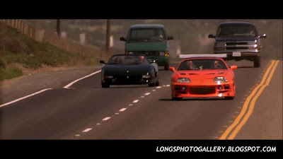 The Fast and The Furious Toyota Supra VS Ferrari