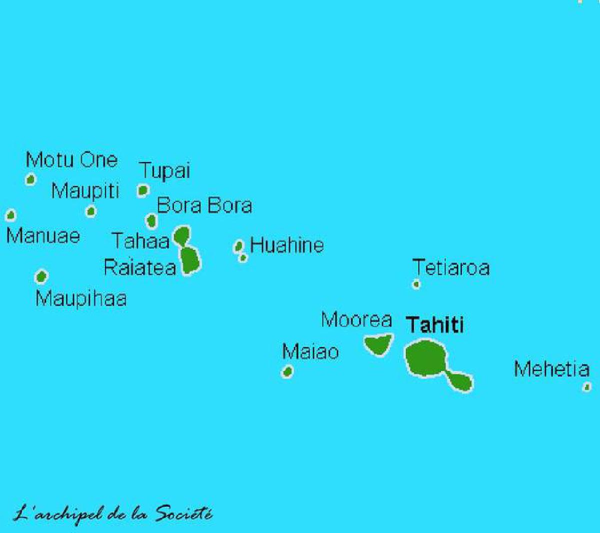 Tahiti, ses îles et autres bouts du monde: L'île de Bora Bora