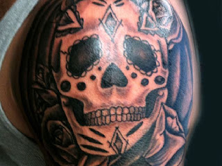 Sugar Skull Tattoos for Guys