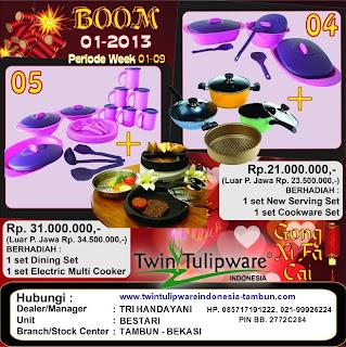 BOOM Tulipware | Januari - Februari 2013