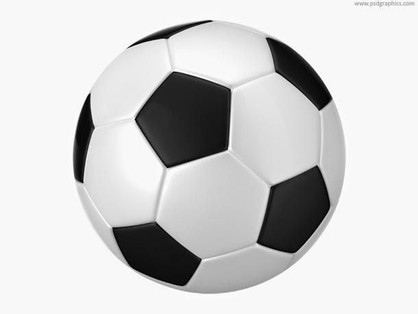 Football Balls PSD